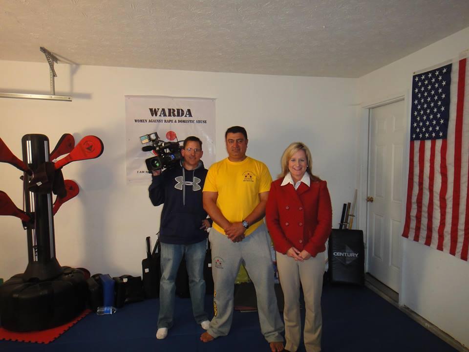 With RTV6 Indianapolis crew