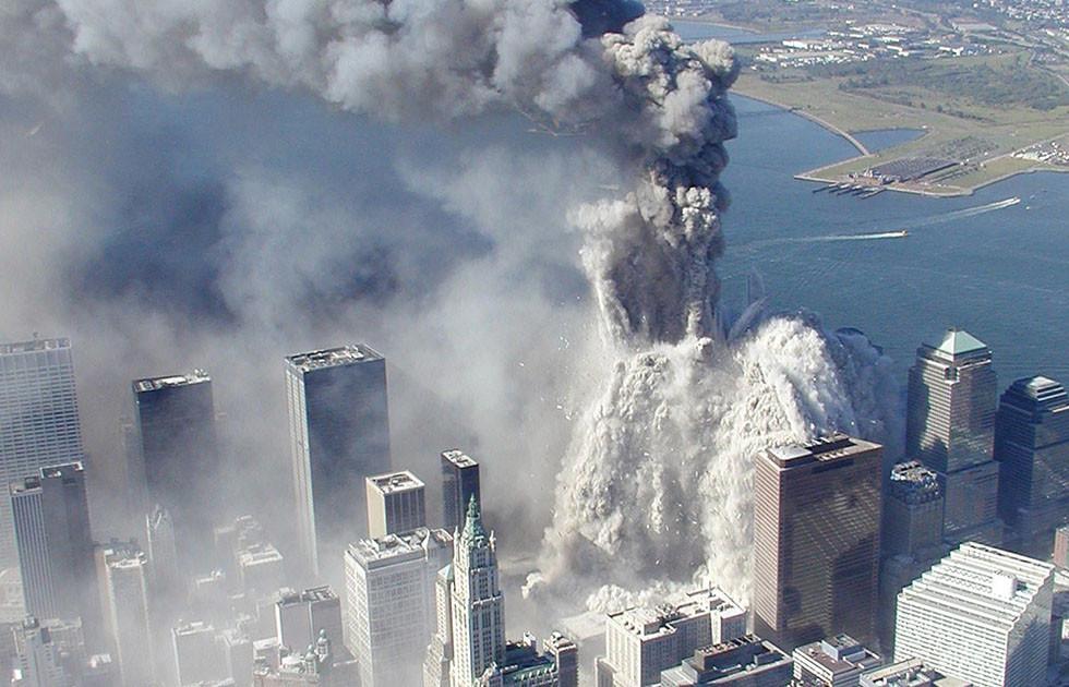 Desabamento das torres do World Trade Center
