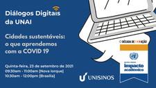ONU promove webinar sobre cidades sustentáveis em parceria com a Unisinos