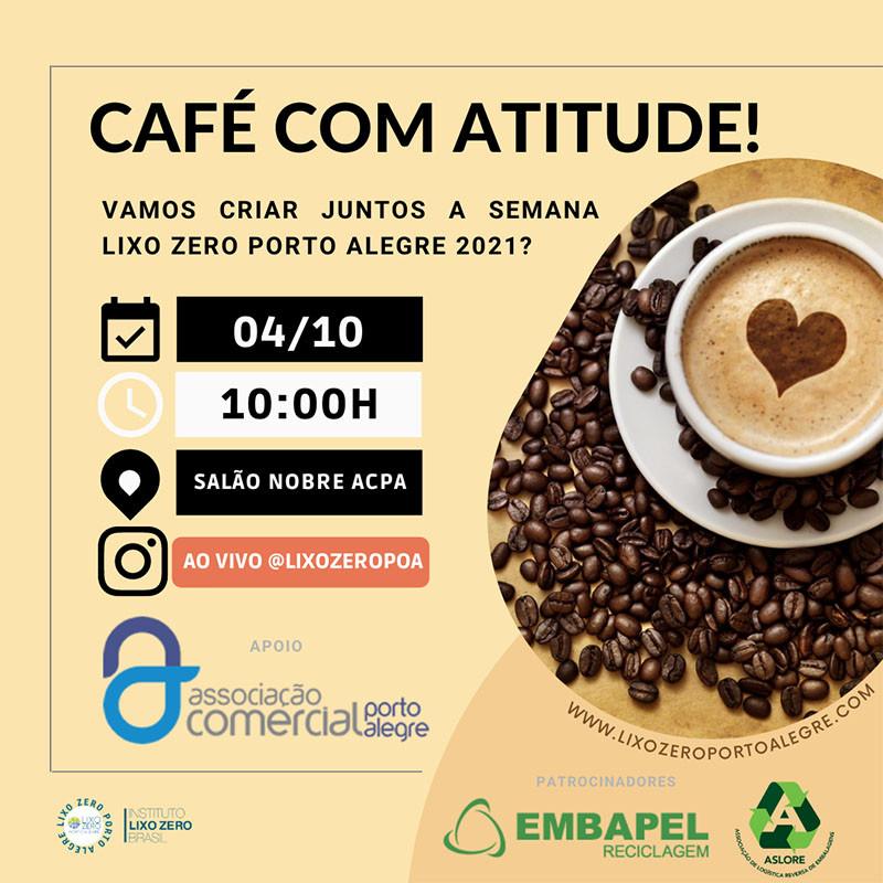 Café com Atitude, Lixo Zero Porto Alegre
