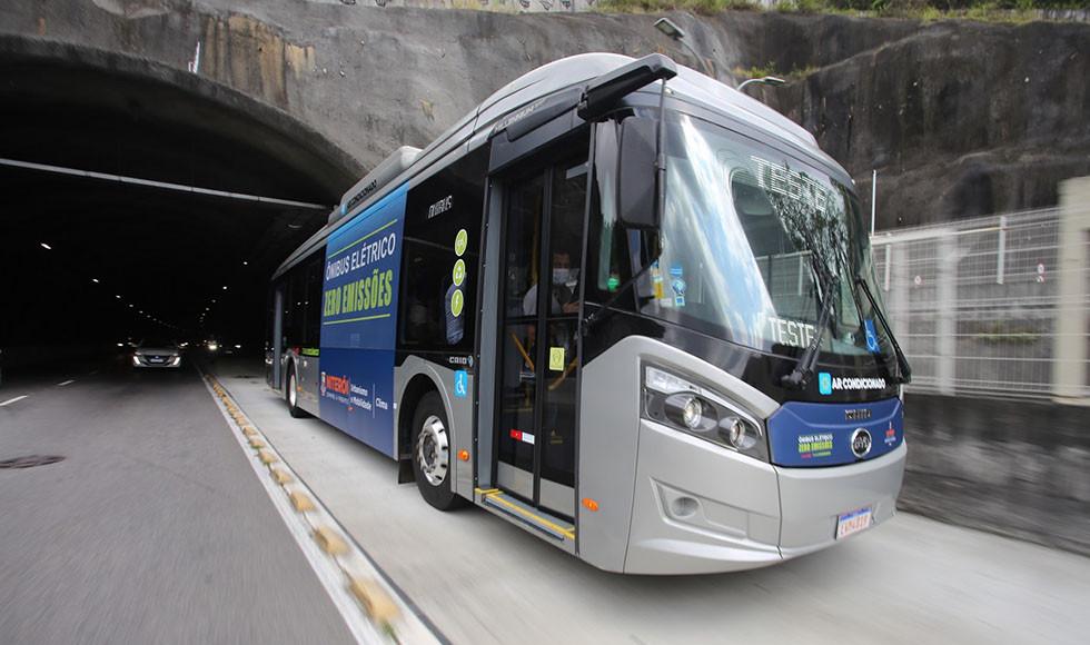 Caio Millennium BRT, ônibus elétrico