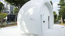 Designer japonês cria banheiro público hi-tech que funciona por comandos de voz