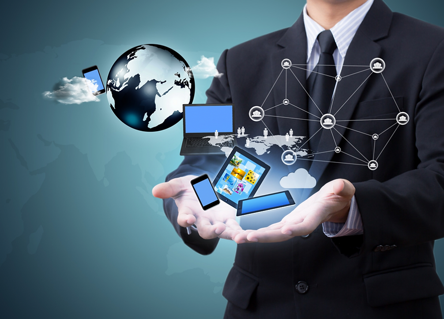 Unified Communications displays available connections options making business communication very functional no matter where you are.
