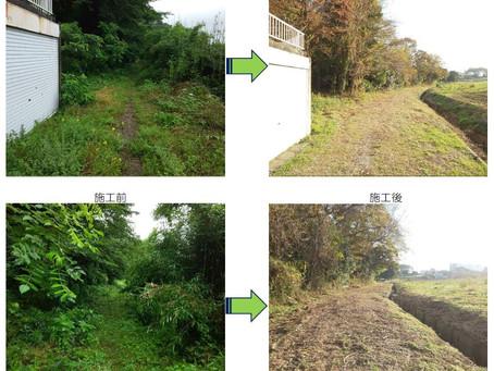 道路除草及び水路維持対策
