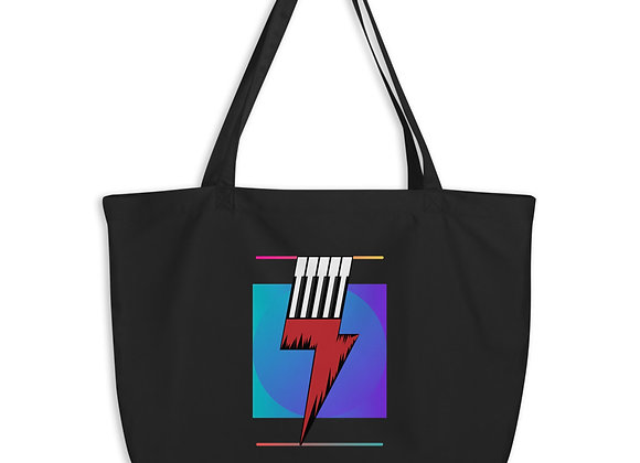 90's Collection Large organic tote bag