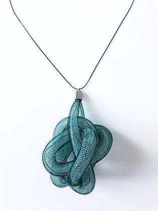 Cobra bicolor collier goutte (choix de couleurs et de chaînes)