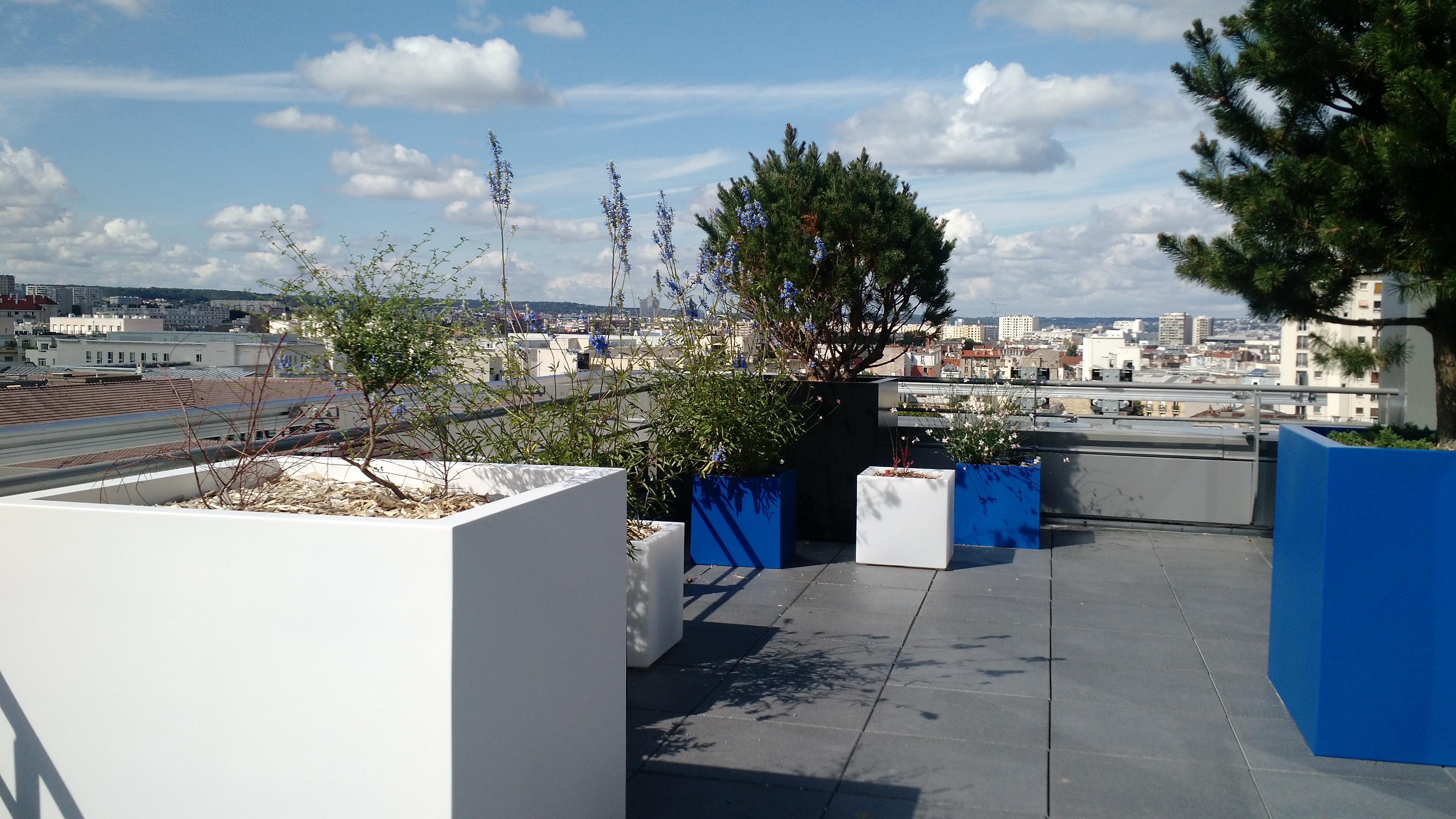 terrasse bleue 6e étage