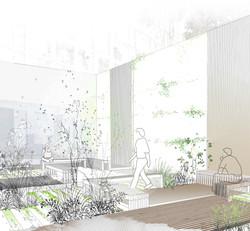 persp paysage patio