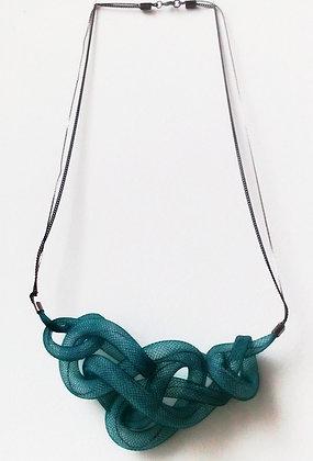 Cobra bicolor collier (choix de couleurs et tailles)