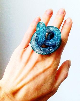 Cobra bague bicolor (choix couleurs et tailles)