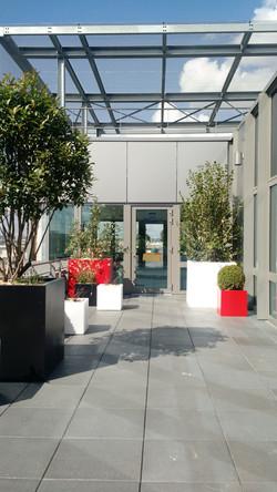 terrasse rouge 6e étage
