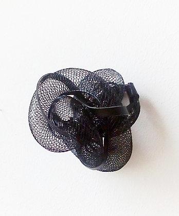 Cobra bague cuir