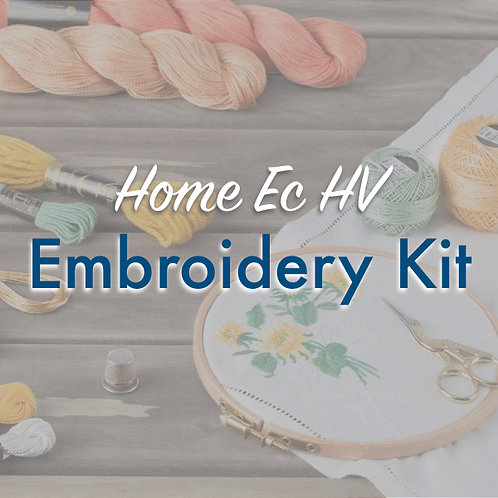 Home Ec Embroidery Kit