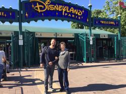 Entering Disneyland Paris!