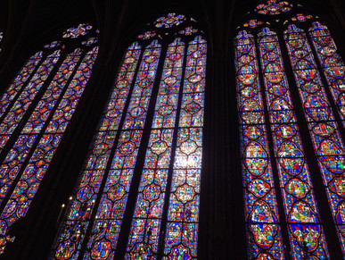 Visiting St Chapelle and St Germaine