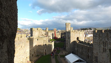 Caernarfon and Conwy Castles!