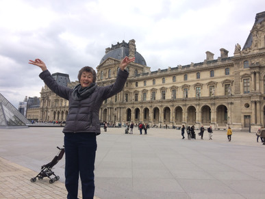The Louvre!!