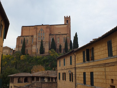 Siena and Montepulciano!