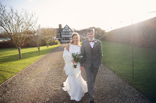 Sophie and Matt's winter wedding at High Grosvenor