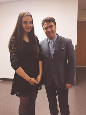 With russian siberian violinist Maxim Vengerov