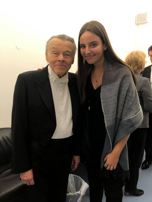 With the late Mo. Mariss Jansons