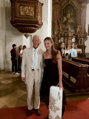 With my mentor, Prof. Michael Frischenschlager