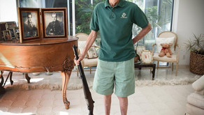 90 Year Old Marine Reunited With His Rifle