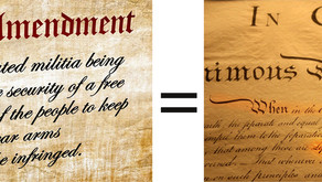 Life, Liberty and the Pursuit of happiness.