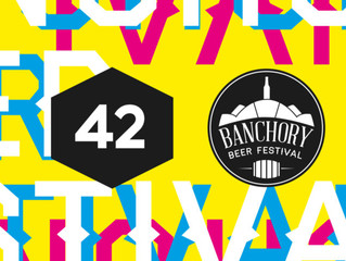 Banchory Beer Festival partner with Aberdeen's design studio FortyTwo for a creative re-brand