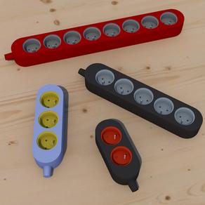 Plug / Multiprises paramétrique
