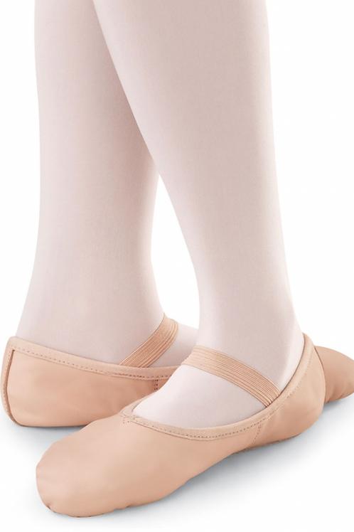 Leather Full Sole Ballet Shoe