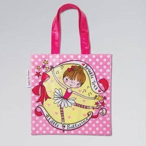 Rachel Ellen Designs - Mini Tote Bag - Little Ballerina