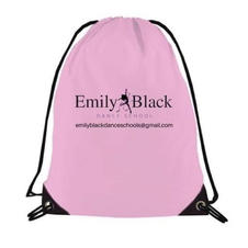 Draw String Bag also avaliable in black