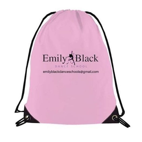 DRAW STRING BAG AVAILABLE IN PINK AND BLACK