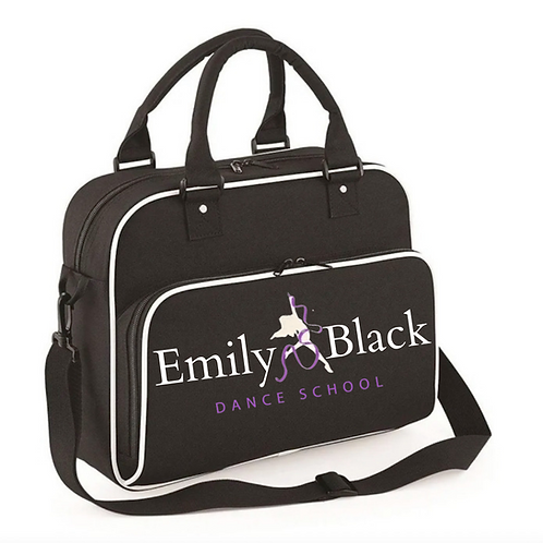 LARGE BLACK DANCE BAG