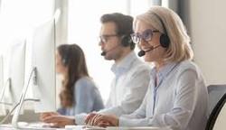 sales people on phone