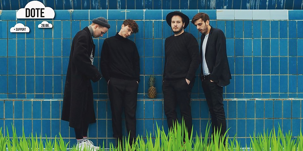 SOLD OUT - Trallafitti: DOTE + Support: Ocean Boulevard & The Honeyclub