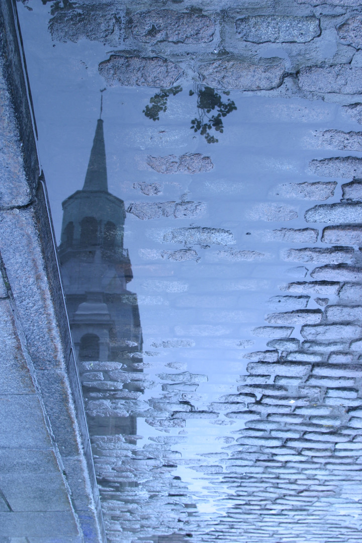 Steeple reflection