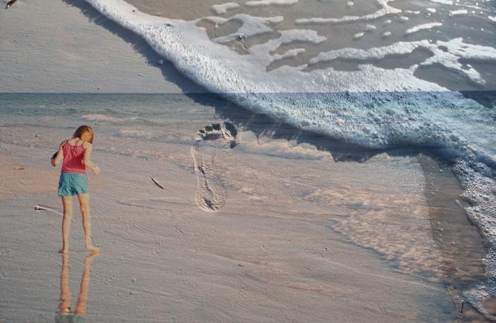 Impression on the Beach