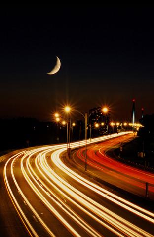 Nightime traffic