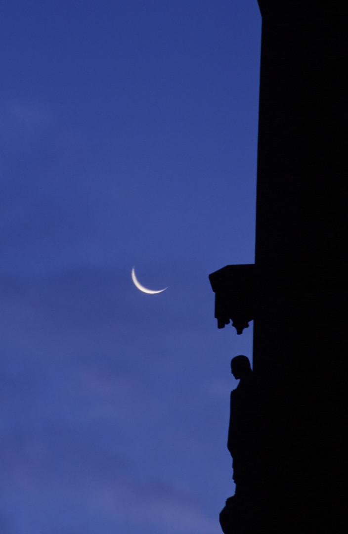 Apostle & moon
