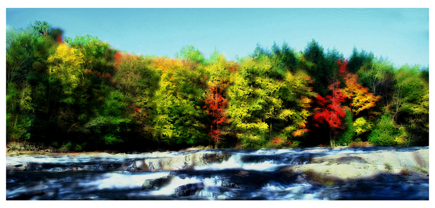 Riviere du Nord in Fall