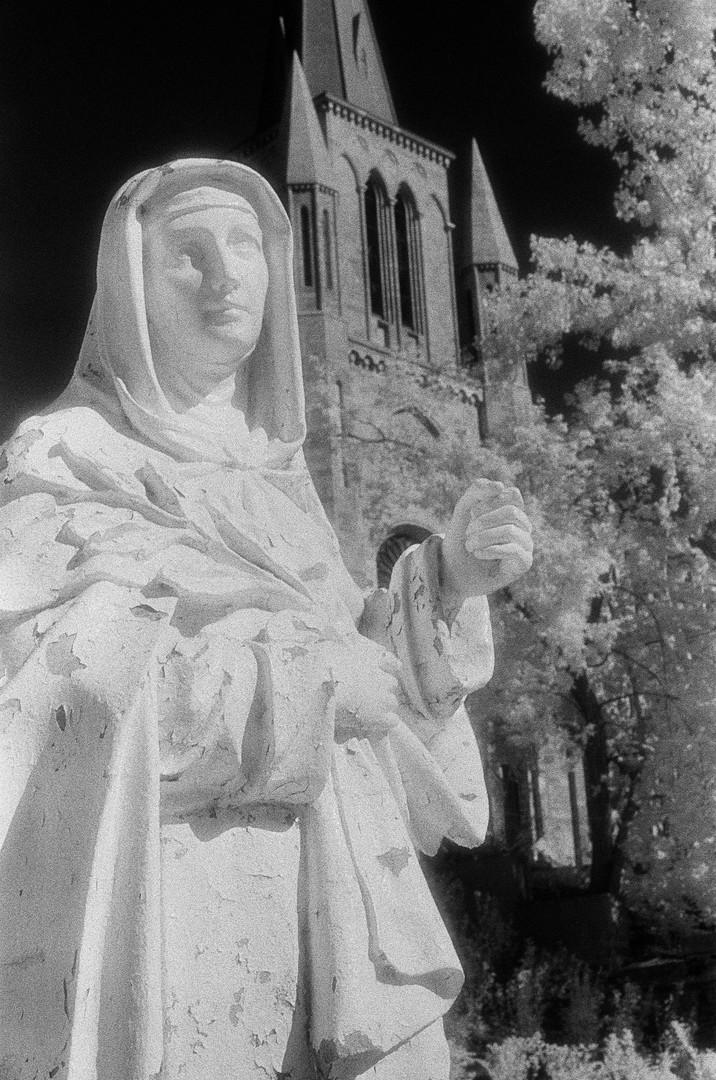Mary at St-Patricks