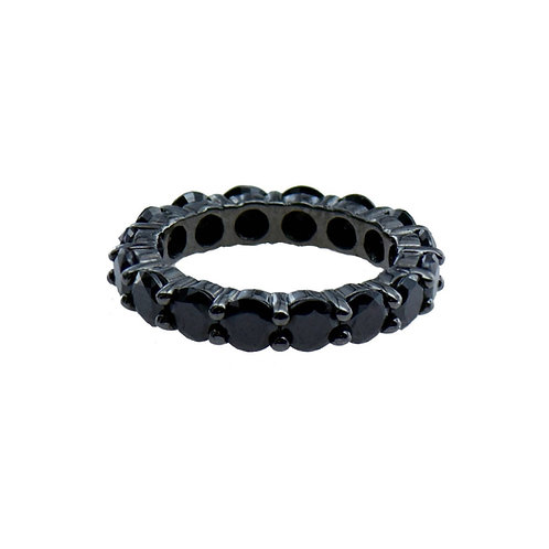 black eternity ring