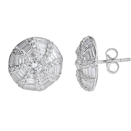 baguette earring