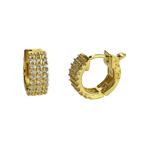 mini hoop earring