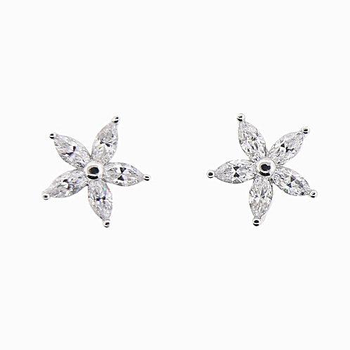 single flower earring