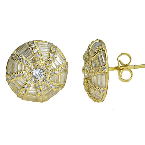 bagette earring