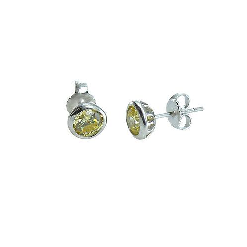 canary stud earring