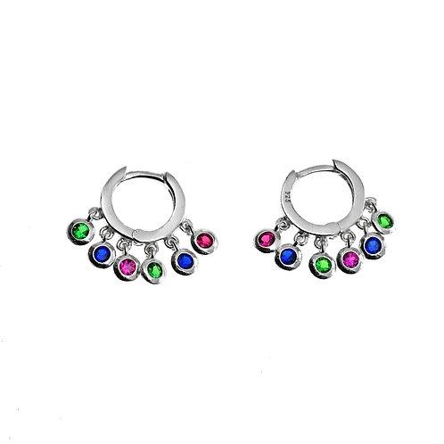 sterling silver mini hoop earring